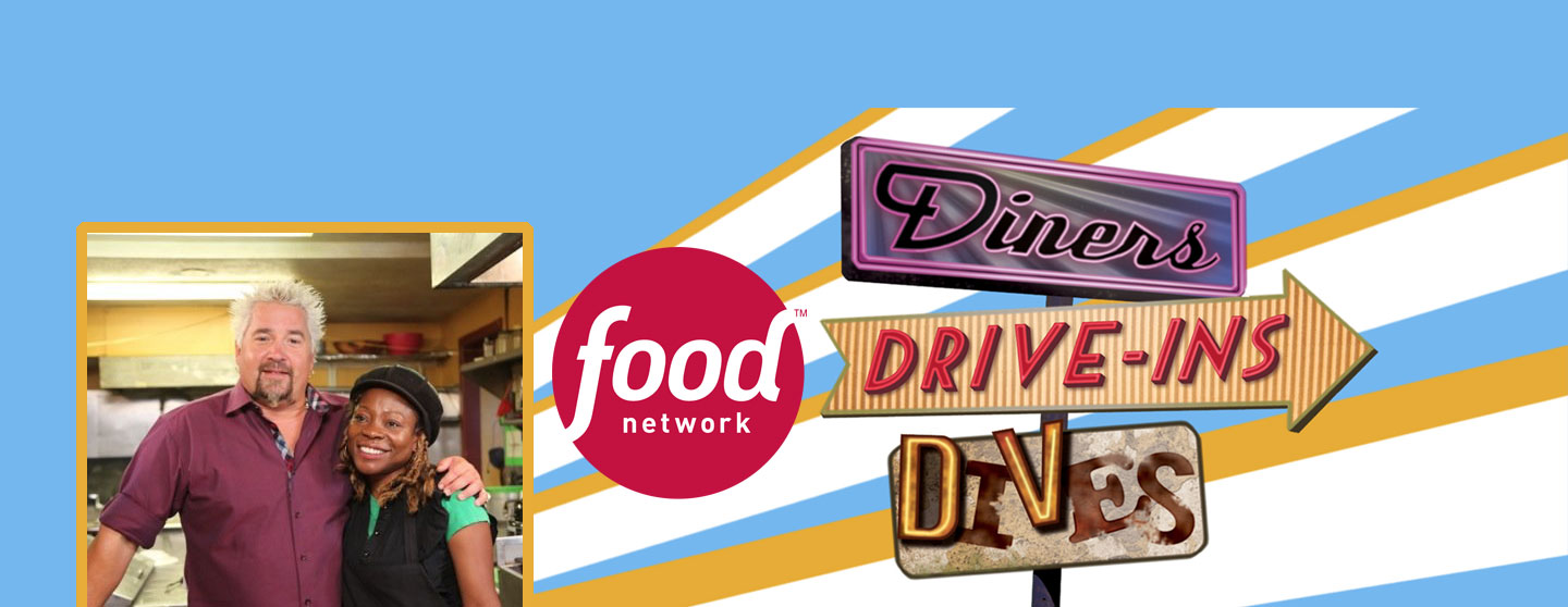 Spice Island Grill Featured on Diners, Drive-Ins and Dives